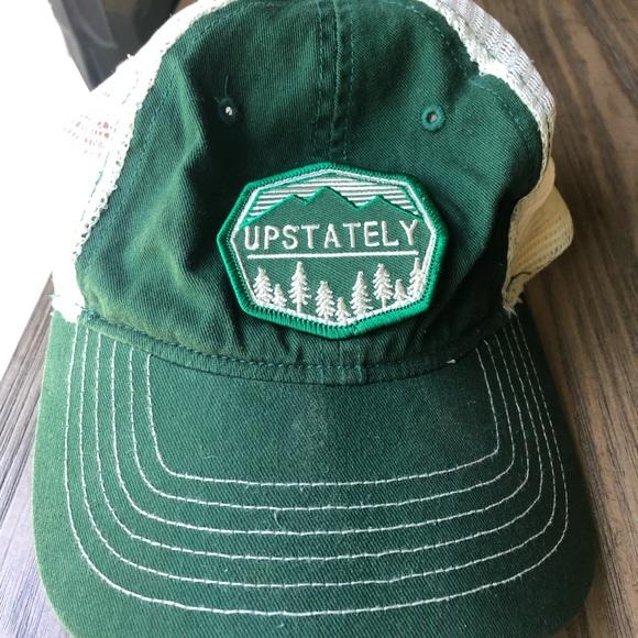 Upstately Accessories - Upstate NY Upstately evergreen trucker hat